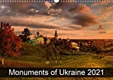 Monuments of Ukraine 2021 (Wall Calendar 2021 DIN A3 Landscape)
