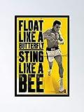 AZSTEEL Muhammad Ali Float Like A Butterfly Sting Bee