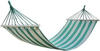 Blu 200X80Cm con Cuscino in Legno A Bastone Singolo per Il Tempo Libero Altalena da Giardino Campeggio Turismo Cortile Interno Naxqx Amaca Amaca AllAperto in Tela Spessa