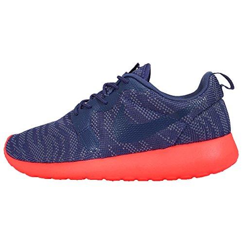 Nike WMNS Roshe Run Knit Jacquard - Cool Blue / Hot Lava / Blue Legend - US 6.0 / EU 36.5