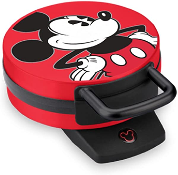 Disney DCM 12 Mickey Mouse Waffle Maker Red