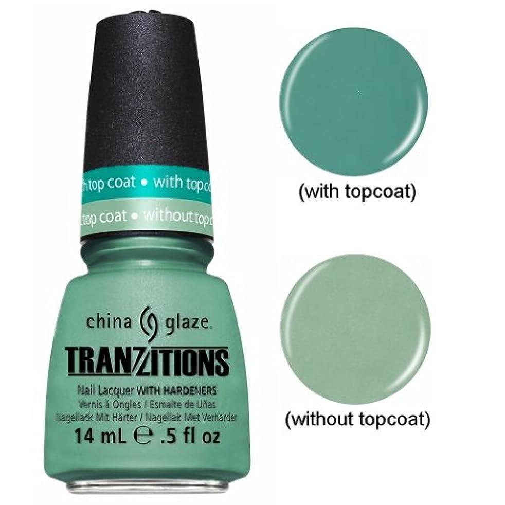 膜傷跡ビジターCHINA GLAZE Nail Lacquer - Tranzitions - Duplicityy (並行輸入品)