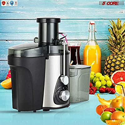 Electric Juicer Wide Mouth Easy Clean Fruit Centrifugal Juice Extractor Fruit Vegetable Juice Maker 3 Speed 5 Core 306 S ?????Ratings ?? Best Deal