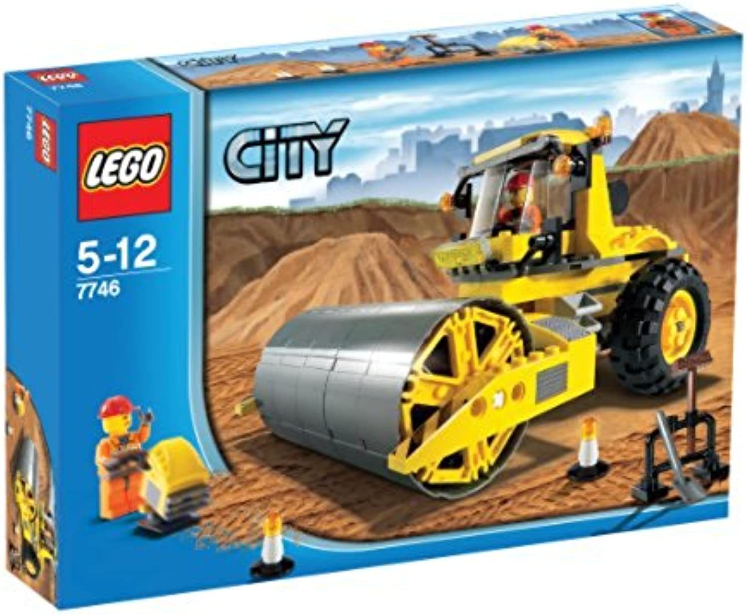 LEGO City 7746  Road Roller