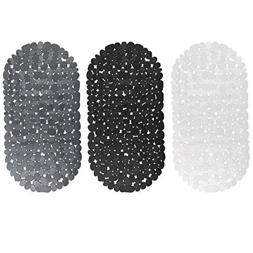 Badewanneneinlage Badewannenmatte Wanneneinlage Antirutschmatte Badewannen Matte (schwarz)