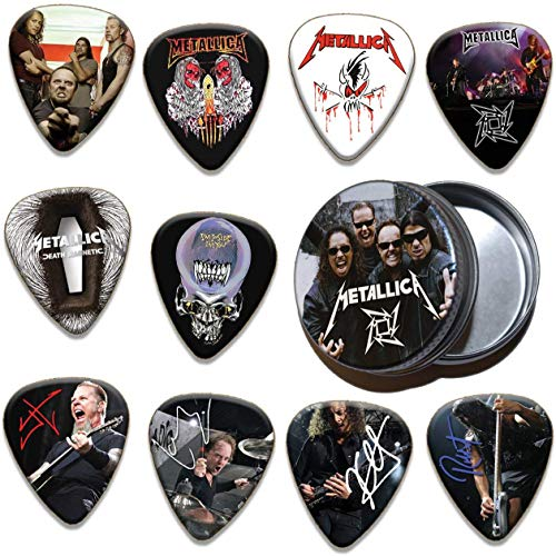 Metallica 10 X Gitarren-Picks Plektrums In Tin 200 Range