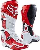 Fox Instinct 2.0 - Botas de esquí (talla 12), color blanco y rojo