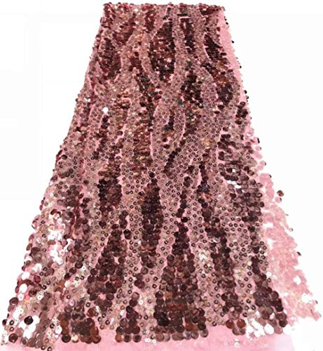 Novelty 3D French lace with sequins nd Applique 5 yards/lot 2019 latest design African Lace Fabric For Wedding Dress sequins FFR,10,China