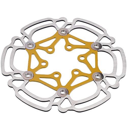 Freno de disco colorido de bicicleta de acero inoxidable de 6 orificios...