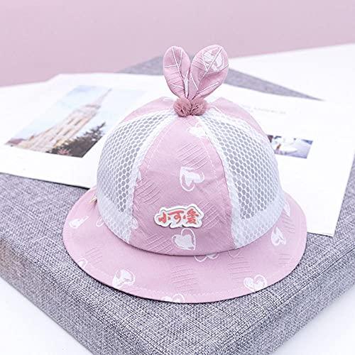 MIBQM Unisex Bebé de Verano Sombrero de Sombrero de Sombrero bebé Pescador de bebé 6-24 Meses-GRAMO
