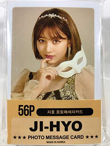 JIHYO ジヒョ - TWICE トゥワイス グッズ / フォト メッセージカード 56枚 (ミニ ポストカード 56枚) セット - Photo Message Card 56pcs (Mini Post Card 56pcs) [TradePlace