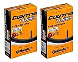2本セット コンチネンタル(Continental) チューブ Race28 Wide 700×25-32c 仏式 42mm [並行輸入品]