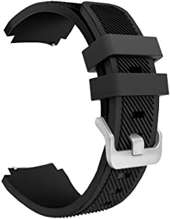 Margoun Active Silicone Watch Band For Samsung Gear S3 Frontier/Classic In Black