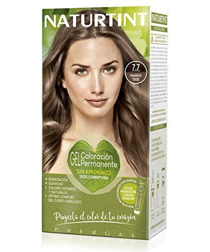 Naturtint | Haarfarbe Oohne Ammoniak |Hoher Anteil an natürlichen Inhaltsstoffen | 7.7. Teide Brown | 170ml
