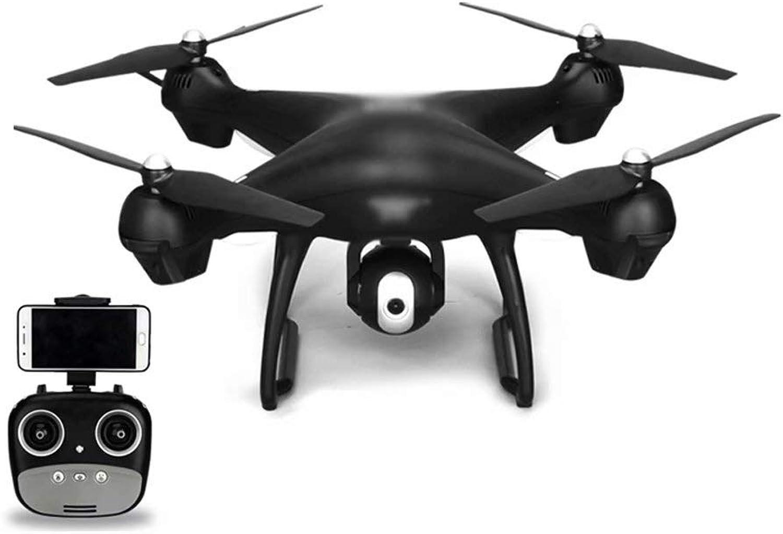 tienda de venta WRJ-Drones Control Remoto Inteligente con Control Control Control Remoto con cámara de Gran Angular 720P HD Wi-Fi, Video en Vivo, 2.4GHz, 9 Ejes, giroscopio, Quadcopter, Negro  calidad de primera clase