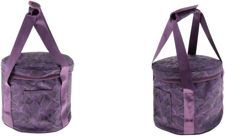 Almencla 2x Thicken Carrier Case Bag Singing Ranking TOP8 Bowl for Crystal service St