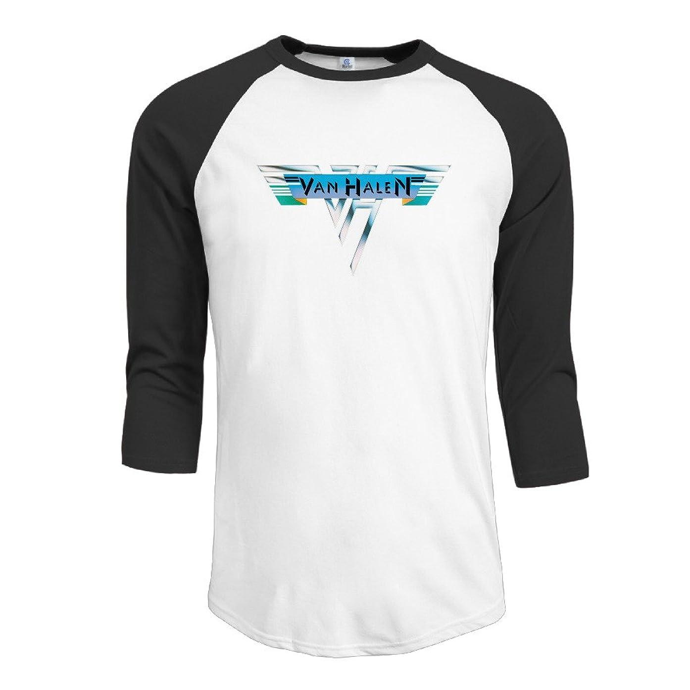 Men The Collection Album Van Halen Vintage 3/4 Sleeve Baseball T Shirts