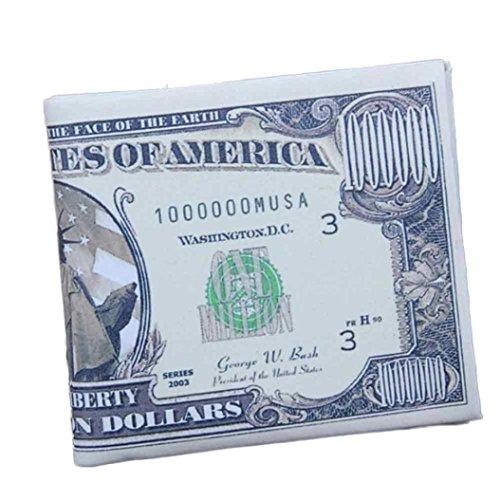 Männer Mini Geldbörse Goosun Währung Kreativität Leder Dünn Brieftasche Geldtasche Kartenhalter Multifunktion Portemonnaie Handschlaufe Clutch Handtasche Portmonee Kleinformat Geldbeutel (1 PC, B)