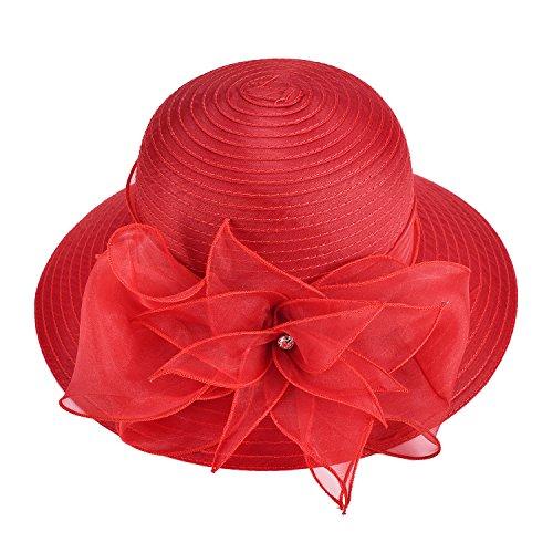 Lawliet - Pamela - para Mujer Rojo Rosso Talla única