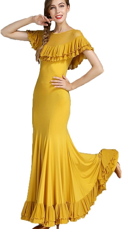Rongg Waltz Dance Dresses For Women Training Performance Modern Ballroom Dance Outfit 760