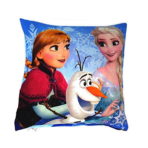 GUIZMAX Taie d'oreiller La Reine des Neiges, Disney Enfant Coussin