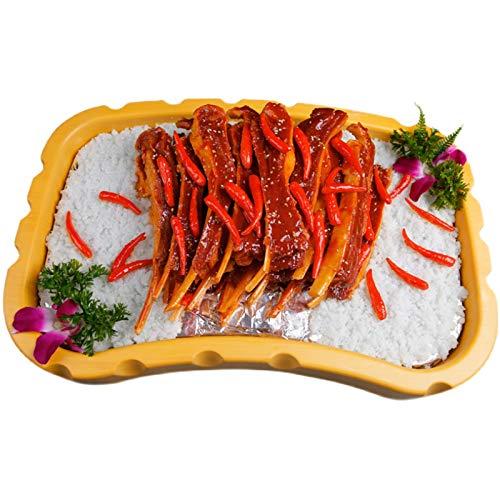 WJH9 Modelo de chuletas de Cordero a la Parrilla de la simulación - Modelo de Carne de Comida de Juego Artificial - para decoración del hogar, exhibición de restaurantes, Etapa de Drama y fotografía
