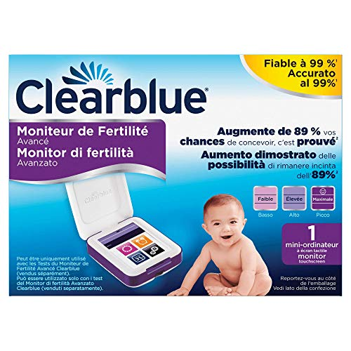 Clearblue Monitor di Fertilità, 1 Monitor Touchscreen