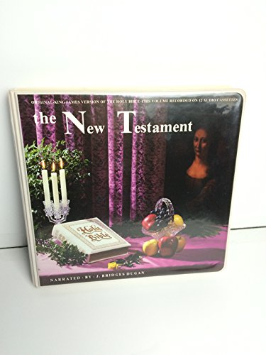 The New Testament on cassette tape (Original King James Version, 12 --2-sides cassettes)