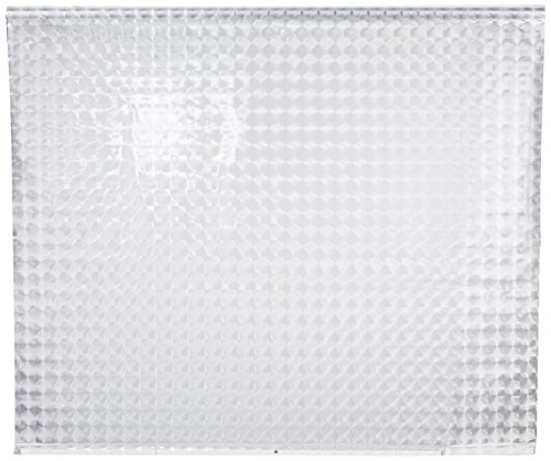 ECO-DuR,4024879010485,1 Paar Ersatzvorhänge ECK Duschrollo 134x62 cm - Kreisel