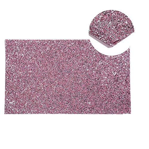 ONNPNN Shiny Nail Art Table Mat, Sequins Foldable Hand Pillow Mat Pad Glitter Arm Rests Cushion Holder Salon Practice Portable Manicure Treatment Tool for Crafts, Gartful Jewelry Casting, Pink