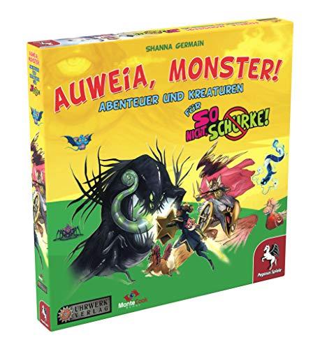 Pegasus Spiele 49001G - So nicht, Schurke! - Auweia, Monster! (Erweiterung)