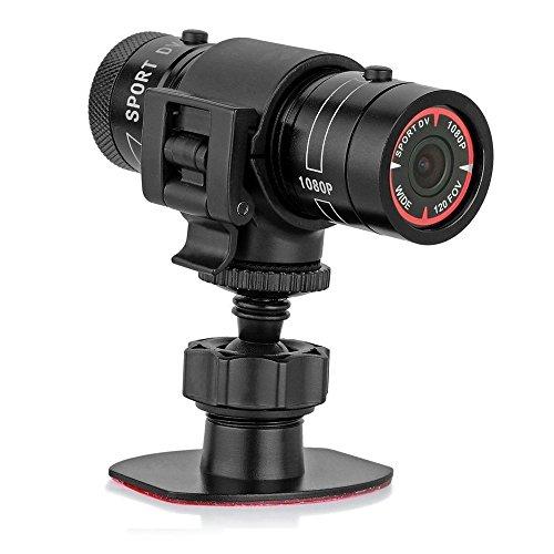 hangang PL-05Mini Deportes cámara 1080p Full HD acción impermeable Deporte casco Moto Casco cámara de vídeo DVR AVI Video Camcorder ayuda 32GB TF tarjeta ideal para...
