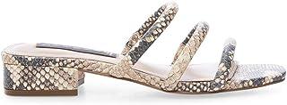 STEVEN by Steve Madden Women's Hades Sandal, Natural Multi, 8.5 M US