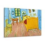 Giallobus - Giallopanel Art Board - Vincent Van Gogh - La habitación de Vincent en Arles - Madera de...