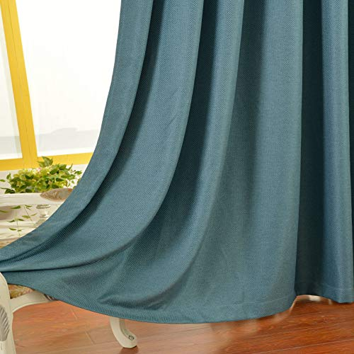Sheer Curtain, Semi Transparent Chiffon Curtains Sheer White Window Curtains for Bedroom Living Room,132cmx160cm