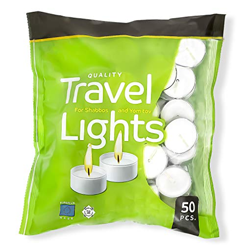 Pack Of 50 White Tealight | Decorative Candle Burns 4 Hours | Tea Light Candles for Wedding, Birthdays and All Other Decorative Events | Pack of (50)