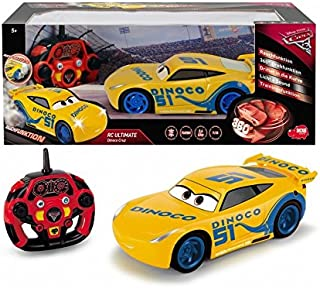Dickie Cars 3 Remote Control Feature Cruz Ramirez Car, For Above 3 Years