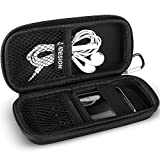 MP3 MP4 Player Case KINGTOP Durable Hard Shell Travel Carrying Case for MP3 MP4 Players,iPod Nano,iPod Shuffle,USB Cable,Earphones,Memory Cards,U Disk,Keys (L) (5.3x2.1x1.5inch)