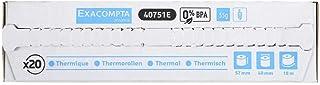 Exacompta 40642E - Papel térmico