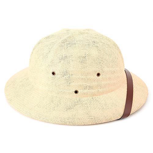 Explorer Hut Cooler Hut, Holzhut Helm Outdoor Vietnam Helm Hut, Hut für draußen und Garten(Khaki)