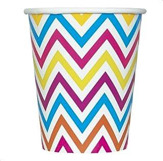 Rainbow Chevron Cups