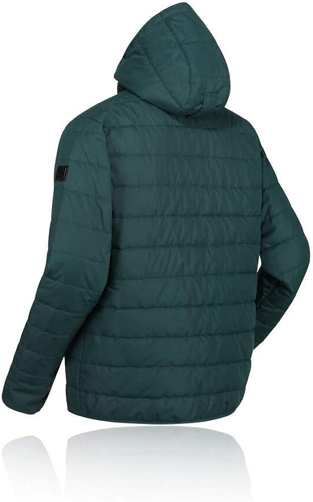 Regatta Herren Helfa Lightweight Water Repellent Insulated Hooded Quilted Jacket Jacke