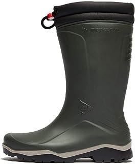 Dunlop Blizzard gevoerde rubberlaarzen voor heren, 37 EU, groen
