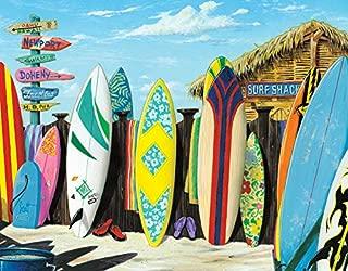 Desperate Enterprises Scott Westmoreland - Surf Shack Tin Sign, 16