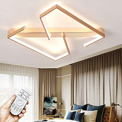 Iluminación De Techo LED Lámpara Regulable Con Control Remoto 3000K-6000K Luz De Techo De Aluminio Comedor Moderna Y Elegante Lámpara De Araña Dormitorio Baño Pasillo Lámpara Colgante (60CM/23.6IN)