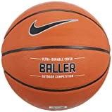 Nike Baller Basketball Full Size (29.5', Ages 13+) Amber/Black/Metallic Platinum
