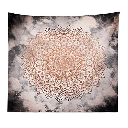 NAIDELI Mandala Bohemia Wall Hanging Tapestry India Style Printed Decor Wall Cloth Tapestries Hippie Colorful Background Tapestry Carpet