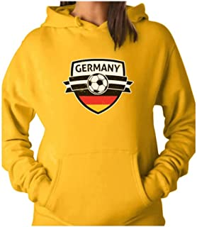 Tstars - Germany Soccer Team Deutschland Fans Women Hoodie