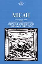 Micah (Anchor Bible Commentary) by Francis I. Andersen (2000-09-19)