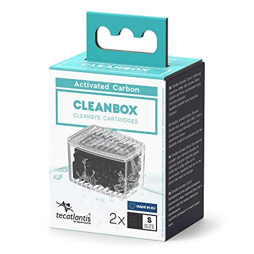 Aquatlantis CleanBox Carbón Activado S Recarga Filtrante para Filtro Cleansys 200, Cleansys 200+ y Cleansys 300
